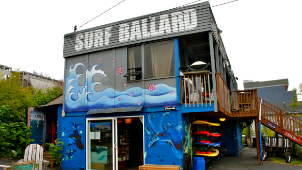 Surf Ballard in Seattle, Washington