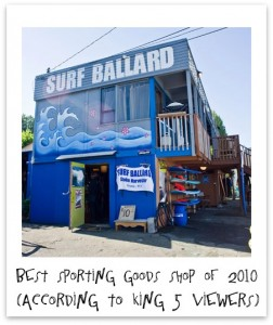 Surf Ballard, Seattle Surf and SUP Shop