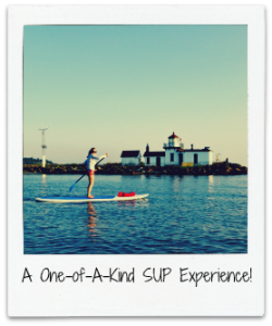 Stand up paddle board rental in Ballard, Seattle