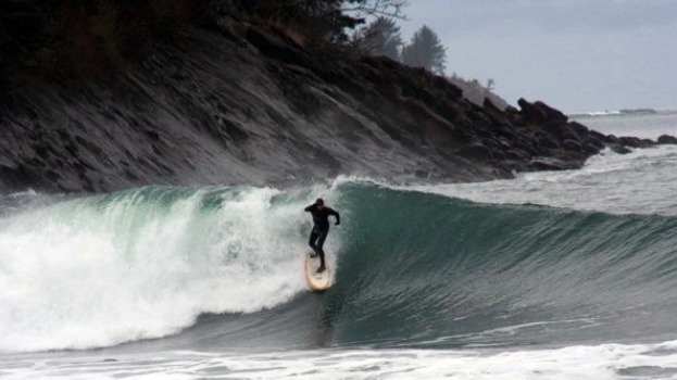 Surfing the Washington Coast