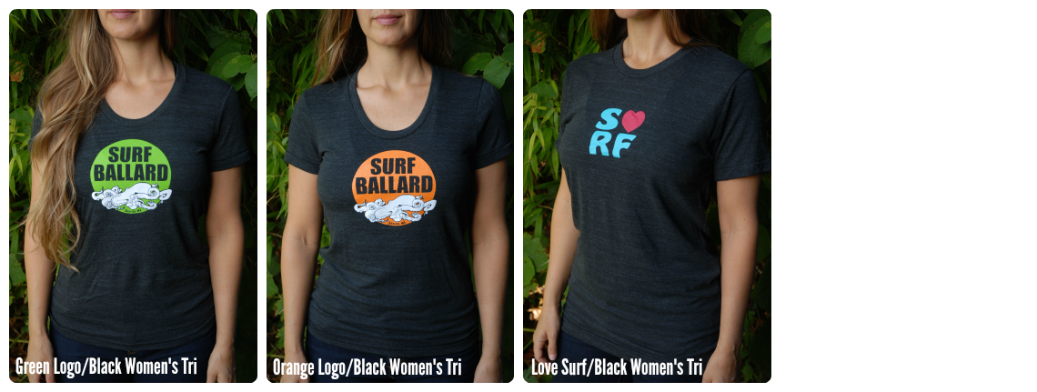 Surf Ballard Women's Tees