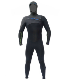 I-Soldier 545 Hooded Isurus Wetsuit.